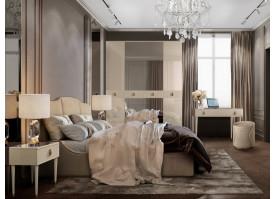 Спальня Римини Соло (беж/золото) СКИДКА -50%!