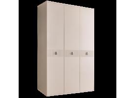 Шкаф 3-дв.Римини Соло без зеркал (беж/серебро)СКИДКА -50%