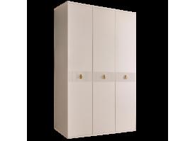 Шкаф 3-дв.Римини Соло без зеркал (беж/золото)СКИДКА -50%
