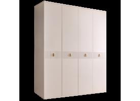 Шкаф 4-дв.Римини Соло без зеркал (беж/золото)СКИДКА -50%