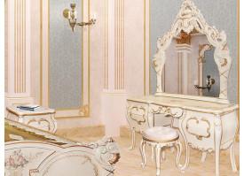 Туалетный столик Людовик беж
