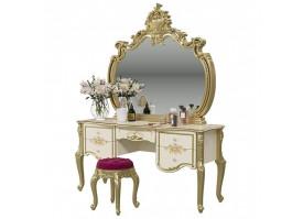 Туалетный стол Шейх (cлоновая кость/золото)
