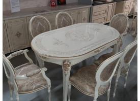 Гостиная Вивьен / стулья Венеция (обеденная группа)