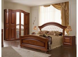 Кровать Любава орех