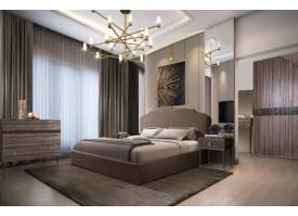 Спальня Римини Соло (орех Империя/золото) СКИДКА -50%!
