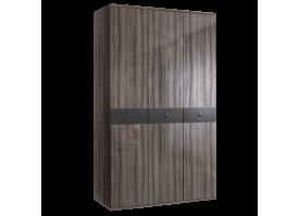 Шкаф 3-дв.Римини Соло без зеркал (орех Империя/золото)