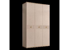 Шкаф 3-дв.Римини Соло без зеркал (латте/золото)СКИДКА -50%