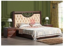 Кровать Берта орех/ Арида мебель