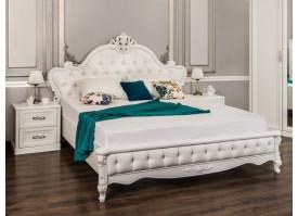 """Кровать Мишель белый матовый """"Эра мебель"""""""