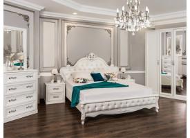 """Спальня Мишель белый матовый """"Эра мебель"""""""