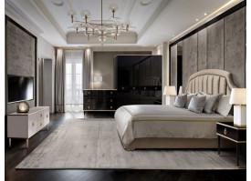Спальня Верона+Римини Соло (черный/золото) СКИДКА -50%!