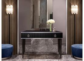 Туалетный стол Римини Соло (черный/серебро) СКИДКА -50%!