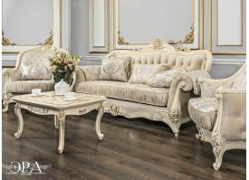 Мягкая мебель Мона Лиза крем Эра мебель