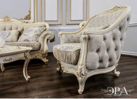 Кресло Мона Лиза крем Эра мебель
