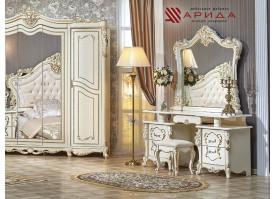 Туалетный стол с зеркалом Джоконда беж/ Арида
