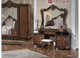Туалетный стол с зеркалом Джоконда радика орех/ Арида