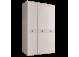 Шкаф 3-дв.Римини Соло без зеркал (слон.кость/золото)СКИДКА -50%