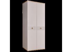 Шкаф 2-дв.Римини Соло (слоновая кость/золото) СКИДКА -50%!
