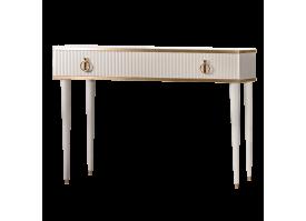 Туалетный стол Римини Соло (слоновая кость/золото) СКИДКА -50%!