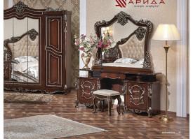 Туалетный стол с зеркалом Джоконда орех/ Арида