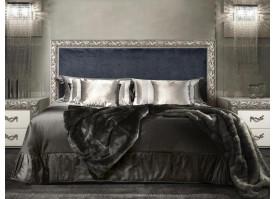 Кровать Тиффани Премиум (антрацит) серебро! СКИДКА - 25%