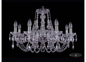Люстра Bohemia Ivele Crystal 1406/8/240/Ni