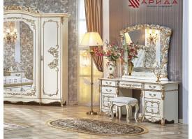 """Туалетный столик Фиона крем """"Арида мебель"""""""
