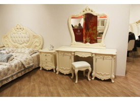 Туалетный столик с зеркалом Элиза беж/ Арида