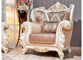 Кресло Империал крем (валь тек голд)