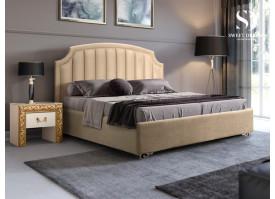 Кровать Верона Verona/ножки серебро (ткань беж 01) СКИДКА -50%!