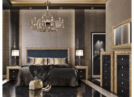 Спальня Тиффани Премиум черное золото (антрацит) ! СКИДКА - 25%