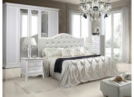 Спальня Амели (с мягким изголовьем/ экокожа)