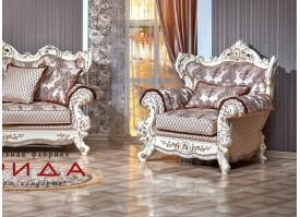 Кресло Оскар 1 крем (ассена бежевый) АКЦИЯ!