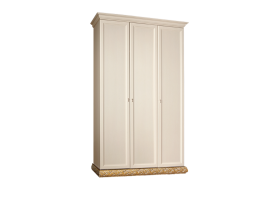 Шкаф 3-дверный Тиффани золото без зеркал АКЦИЯ! СКИДКА - 40 %