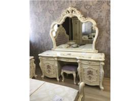 """Туалетный столик Венеция классик крем """"Арида мебель"""""""
