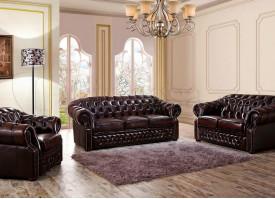 """Кожаная мягкая мебель В-128 """"Честер"""""""