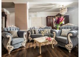 Мягкая мебель Афина крем серый Эра мебель