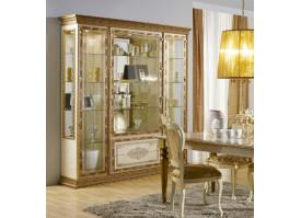 Шкаф-Витрина 4-дверная Палермо