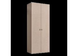 Шкаф 2-дверный Римини (латте/серебро) СКИДКА -50%!