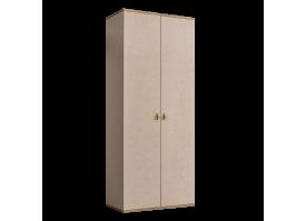 Шкаф 2-дверный Римини (латте/золото) СКИДКА -50%!