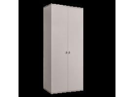 Шкаф 2-дверный Римини (слоновая кость/серебро) СКИДКА -50%!