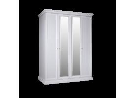 Шкаф 4-дверный Амели с зеркалами