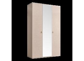Шкаф 3-дв.Римини (латте/серебро) СКИДКА -50%!