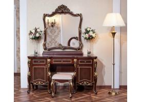 Туалетный стол с зеркалом Констанция орех/ Арида