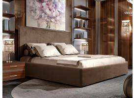 Кровать Диора (ткань коричневая 12) СКИДКА -50%!