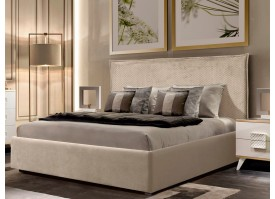 Кровать Диора (ткань беж 11) СКИДКА -50%!