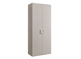 Шкаф 2-дв. Диора (слоновая кость/серебро) СКИДКА -50%!