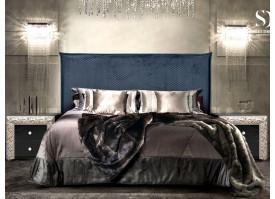 Кровать Диора (ткань антрацит 48) СКИДКА -50%!