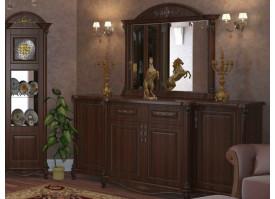 Комод в гостиную Да Винчи орех
