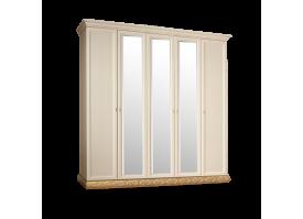 Шкаф 5-дверный Тиффани золото с зеркалами АКЦИЯ! СКИДКА - 40 %